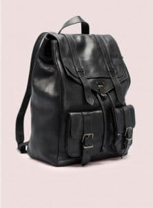 Proenza Schouler Black PS1 Backpack Bag - Pre- Fall 2014