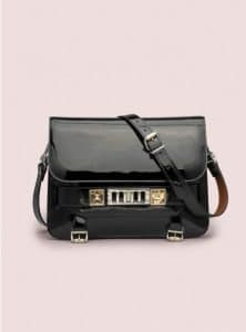 Proenza Schouler Black PS11 Classic Bag - Pre-Fall 2014