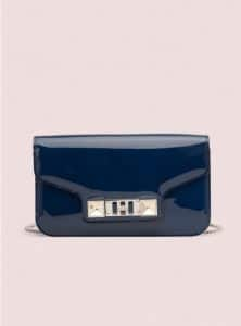 Proenza Schouler Cadet Blue PS11 Chain Wallet Bag - Pre-Fall 2014