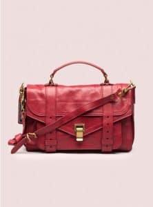 Proenza Schouler Crimson PS1 Medium Leather Bag - Pre-Fall 2014