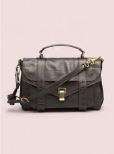 Proenza Schouler Dark Chocolate PS1 Medium Leather Bag - Pre-Fall 2014