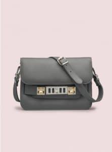 Proenza Schouler Heather Grey PS11 Mini Classic Bag - Pre-Fall 2014
