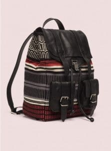 Proenza Schouler Red/Black PS1 Backpack Baja Bag - Pre-Fall 2014