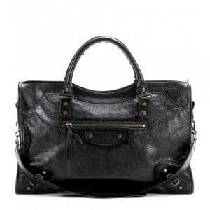 Balenciag Noir/Black Classic City Bag