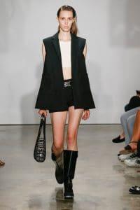Balenciaga Black Rope Bag 3 - Resort 2015