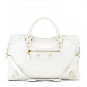 Balenciaga Ivoire/White Giant 12 City Bag