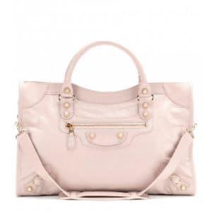 Balenciaga Rose Poudre Giant 12 City Bag