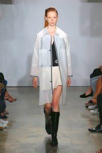 Balenciaga White Oversized Coat - Resort 2015