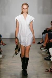 Balenciaga White Shirt Dress - Resort 2015