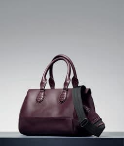 Bottega Veneta Aubergine New Calf Ducale Bag - Pre-Fall 2014