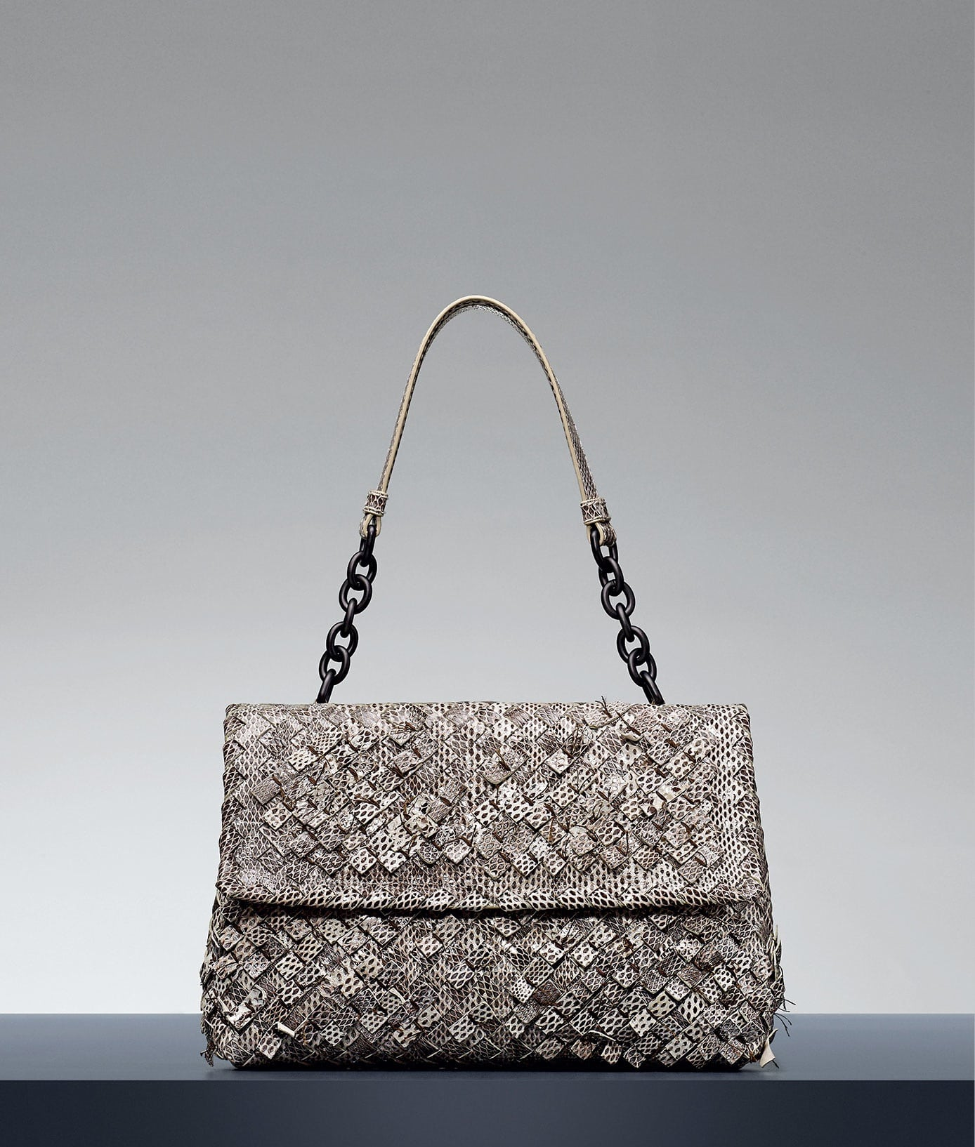 Bottega Veneta Mist Intreccio Tobu Ayers Olimpia Bag - Pre-Fall 2014 cbcdded37beef
