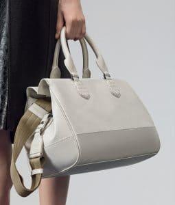 Bottega Veneta Mist New Calf Ducale Bag - Pre-Fall 2014