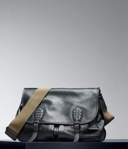 Bottega Veneta New Light Grey Cervo Metal Gardena Bag - Pre-Fall 2014