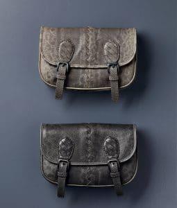 Bottega Veneta Sand/New Light Grey Karung Clutch Bag - Pre-Fall 2014