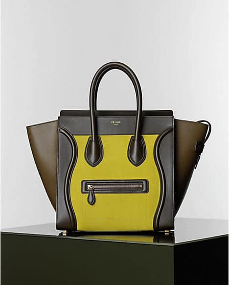 celine luggage buy online - celine yellow luggage bag