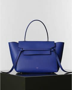 Celine Indigo Belt Tote Bag - Winter 2014