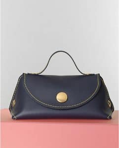 Celine Navy Blue Orb Single Tote Bag - Winter 2014