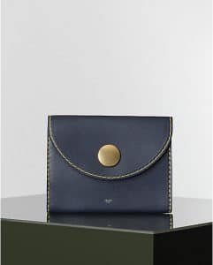 Celine Orb Clutch Vegetal Calfskin Bag - Winter 2014