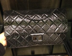 Chanel Black Aged Reissue Flap Bag - Prefall 2014