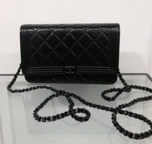 Chanel Black on Black WOC Bag - Prefall 2014