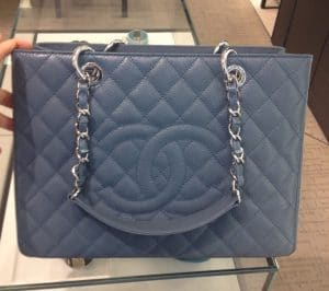 Chanel Blue GST Bag