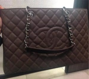 Chanel Dark Brown GST Bag