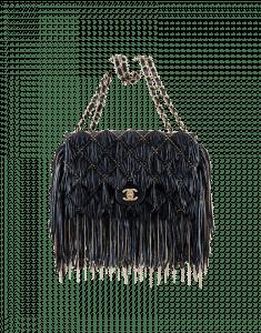 Chanel Embellished Fringe Flap Bag - Prefall 2014