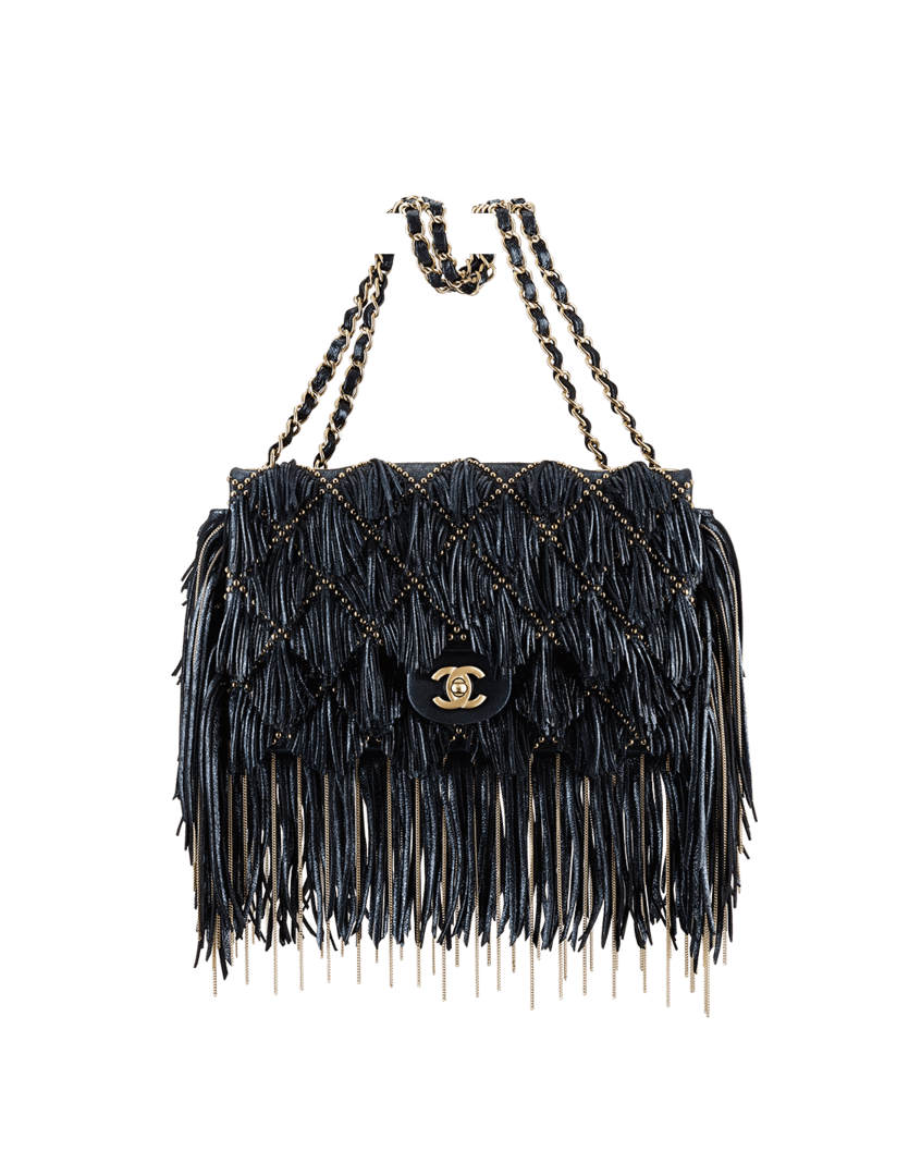 chanel prefall 2014 bag collection includes more studs