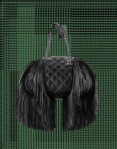Chanel Fringe Drawstring Bag - Prefall 2014