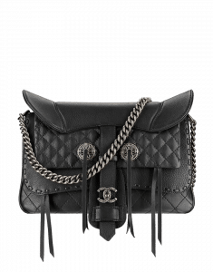 Chanel Large Fringe Saddle Bag - Prefall 2014