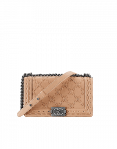 Chanel Large Stitching Small Boy Flap Bag - Prefall 2014