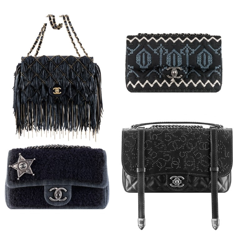 ce672a437e2f Chanel Pre-fall 2014 Bag Collection includes More Studs and Fringe ...