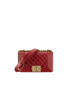 Chanel Small Red Boy Flap Bag - Prefall 2014