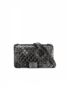 Chanel Studded Boy Flap Bag - Prefall 2014