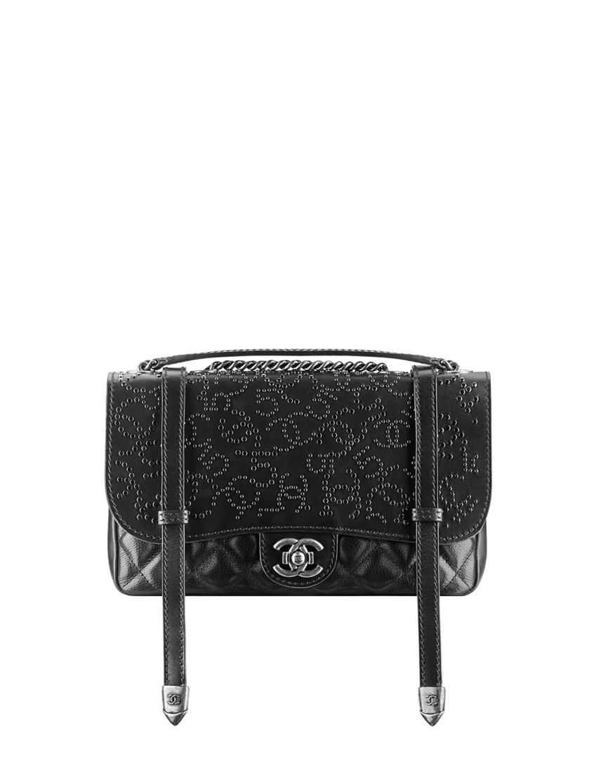 79b666f4dd69 Chanel Pre-fall 2014 Bag Collection includes More Studs and Fringe ...