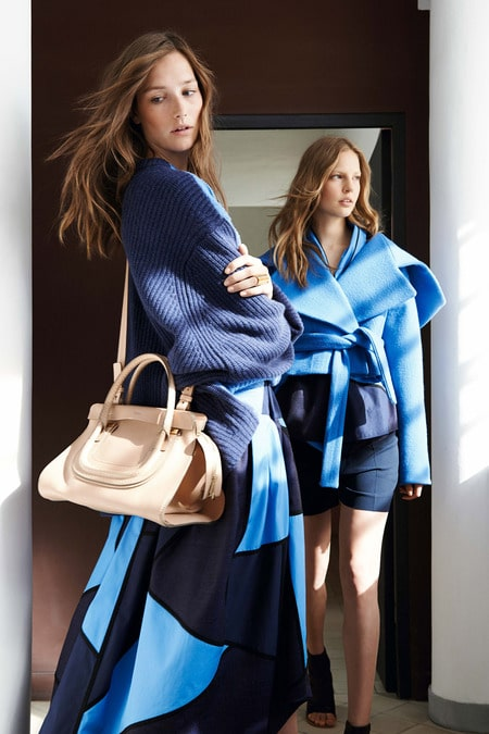 Chloe Resort 2015 Lookbook features New Drawstring Style the Emma ...