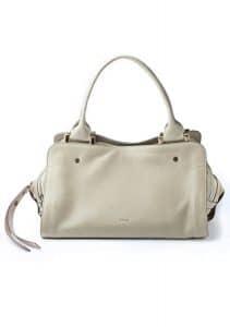 Chloe Beige Top Handle Bag - Fall/Winter 2014