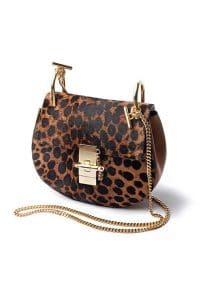 Chloe Leopard Print Drew Bag - Fall/Winter 2014