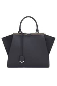 Fendi Black 3Jours Tote Bag