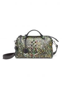 Fendi Black Multicolor Python By The Way Bag