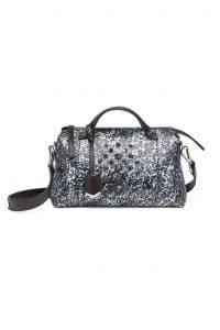 Fendi Black/White Python By The Way Bag