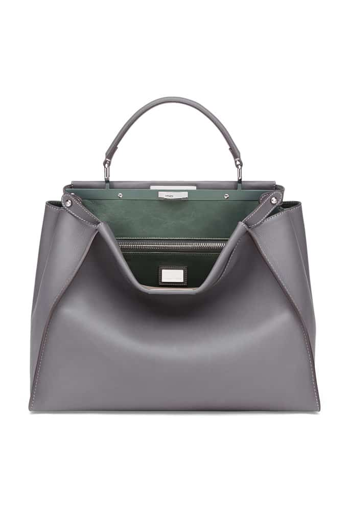 996fe4157c Fendi Fall   Winter 2014 Bag Collection feature Metallic Python and ...