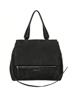 GIvenchy Black Nubuck Pandora Pure Medium Bag