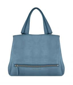 Givenchy Blue Nubuck Pandora Pure Medium Bag