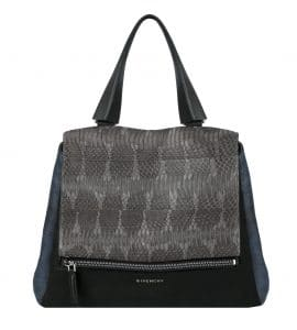 Givenchy Dark Grey/Blue/Black Ayers Pandora Pure Bag