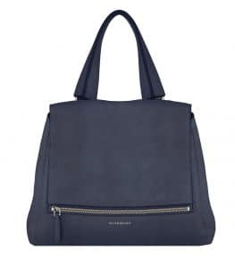 Givenchy Night Blue Nubuck Pandora Pure Medium Bag