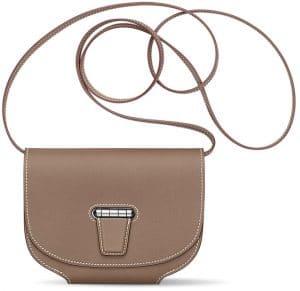 Hermes Brown Mini Convoyeur Bag