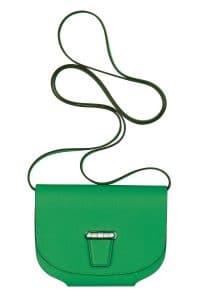 Hermes Green Mini Convoyeur Bag