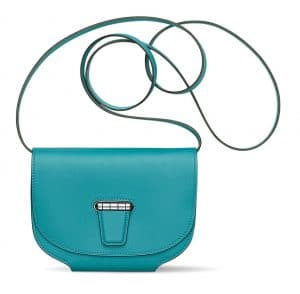 Hermes Turquoise Mini Convoyeur Bag