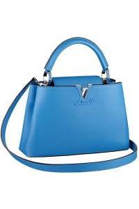 Louis Vuitton Azur Capucines BB Tote Bag - Fall 2014